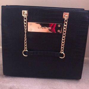 Bebe black handbag